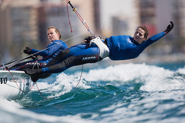 Musto's performance partnerships include the British Sailing Team (©Lloyd Images/Musto)