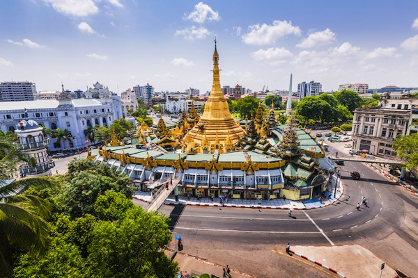 Yangon, Myanmar's largest city