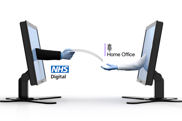 NHSA Digital and Home Office: Altered the terms of a controversial data-sharing agreement