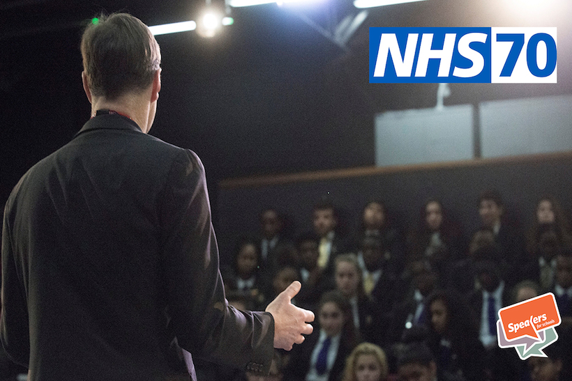 The school speakers programme is designed to inspire the next generation to work in the NHS