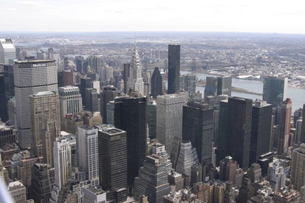"""NYC-Skyline-1"" by Taken by Shmuel Spiegelman using a Canon 10D via Wikimedia Commons"