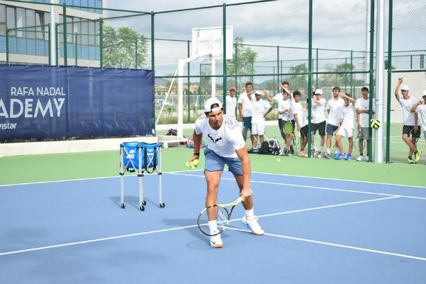 Tennis legend Rafael Nadal's comms man and academy sign up to Pagefield