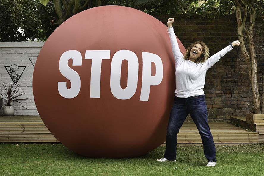 Loose Women presenter Nadia Sawalha is supporting the Stoptober campaign