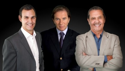 (L to R): Newlink America managing partner & cofounder Jorge Ortega; Newlink Group chairman & CEO Sergio Roitberg; Newlink America managing partner Eduardo del Rivero