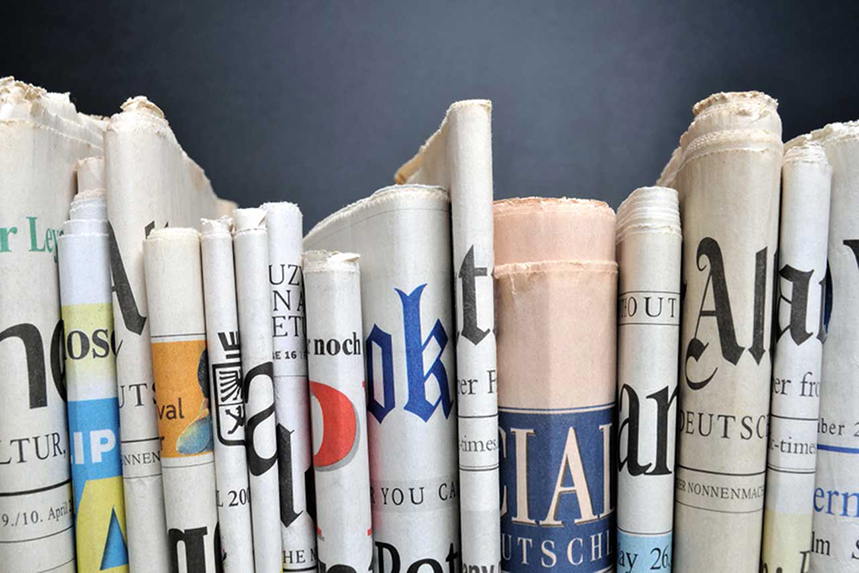 Newspapers: small and large publishers can benefit from relief fund