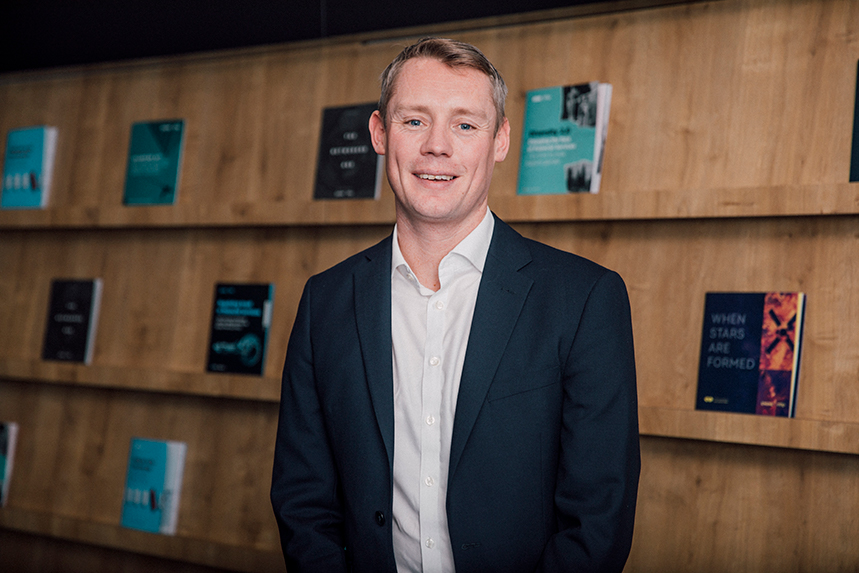 Nick Woods joins MHP in April to lead its Financial Services team