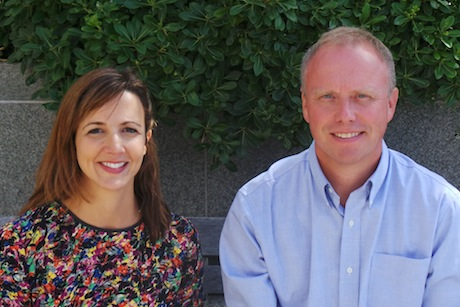 Nina Otera and Andrew Baiden: launching Thirteen