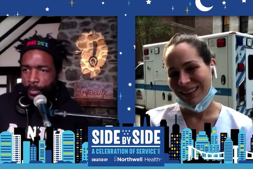 Northwell Health's annual Side By Side: A Celebration of Service live event in New York City became an all-virtual event celebrating medical workers on the front lines.