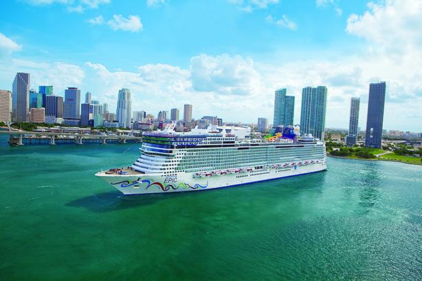 Norwegian Cruise Line's 'Epic' ship