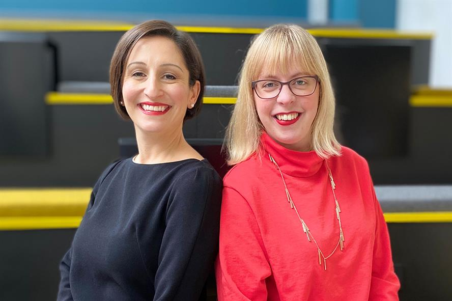Roudie Shafie (left) has joined Ovid's founder Jenny Ousbey (right) as a director at the agency