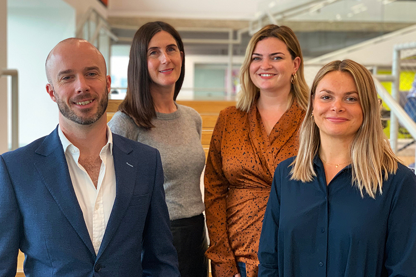 Ogilvy's new PR & influence recruits: Toby Conlon, Anna Carter, Rosey Stones and Rosie Conboy