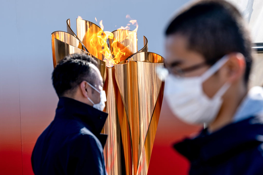 The Tokyo Olympic torch relay has been postponed due to the coronavirus (Photo: Getty Images)