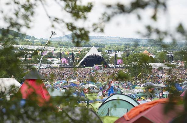 Pyramid Stage at Glastonbury Festival 2014 (credit: Matt Crossick/PA Wire)