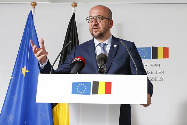 Charles Michel: Credit THIERRY ROGE/Belga/Press Association Images