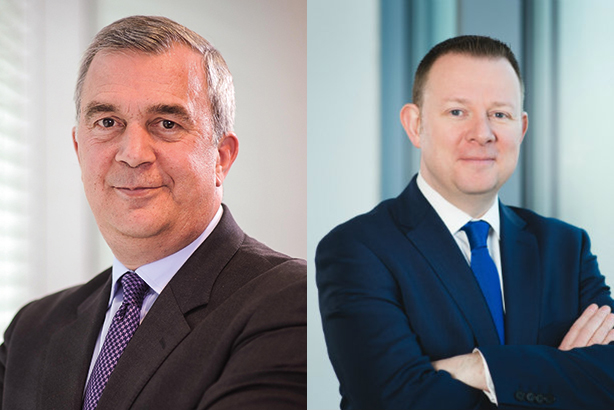 Money men: Goad (l) and Doherty lead the way in banking and financial comms