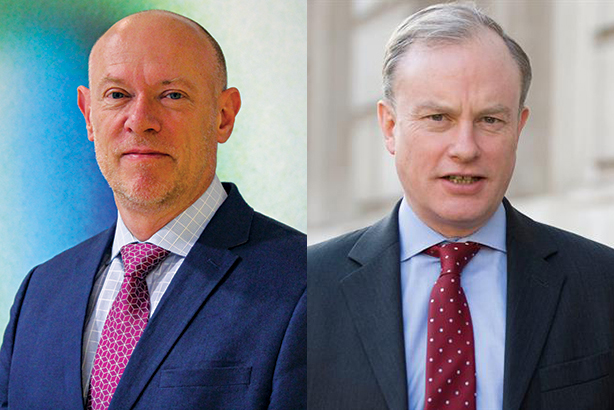 Andy Tighe (l) and Alex Aiken head up the public sector comms top ten
