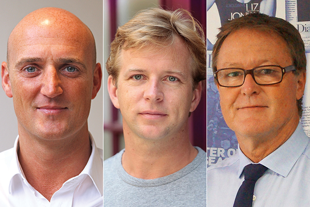 (l-r) Martin, Chappell & Hall retain their positions at the forefront of agency sport comms