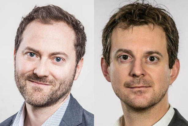 Shield (l) and Norton –the two biggest players in UK telecoms, media and tech comms