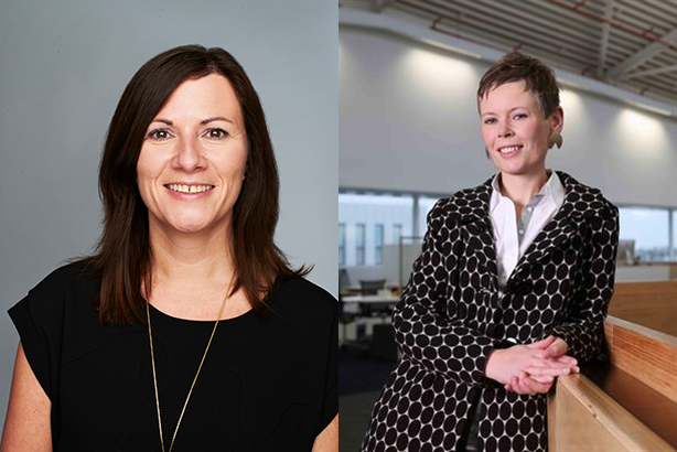 Louise Evans (l) replaces Alice Macandrew at the top of the travel PR pros list