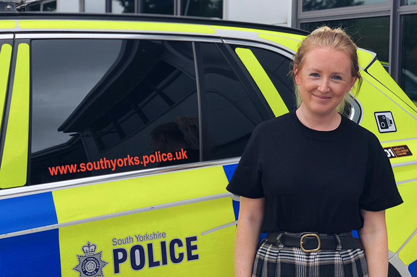 It's non-stop for comms officer Fae Halstead, seconded to South Yorkshire Police Silver Command during the coronavirus pandemic