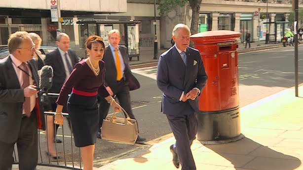 Channel 4: Attempted to unsuccessfully doorstep Prince Charles