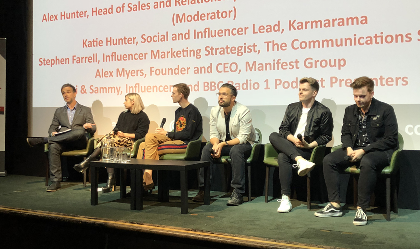 Talking influencers: Top panellists from last year's breakfast briefing