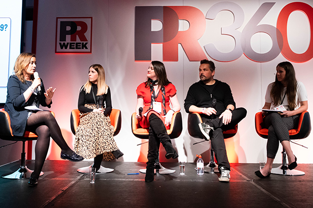 PR360 panel on pitching: Allchurch, O'Neill, Mason, Herring and moderator Macdonald
