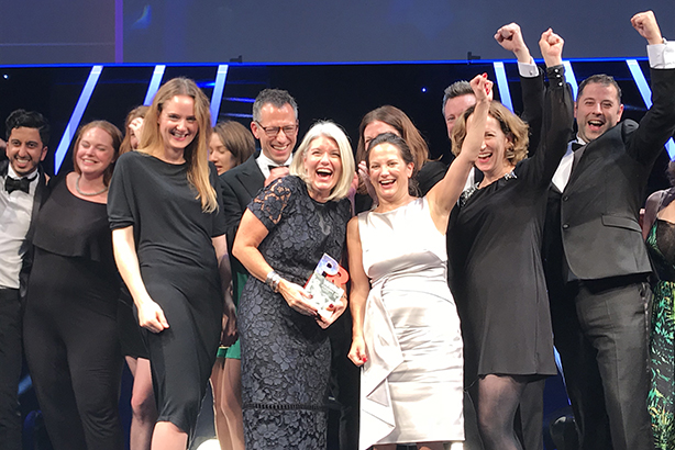 Weber Shandwick picked up five PRWeek Awards last year - who will win big tonight?
