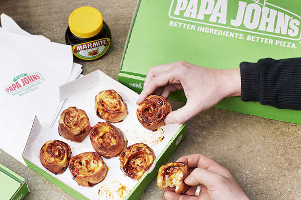 W Communications helped secure a partnership between Marmite and Papa John's.