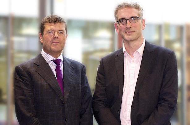 Paul Burstow, former minister, and Gavin Devine, CEO of MHP Communications