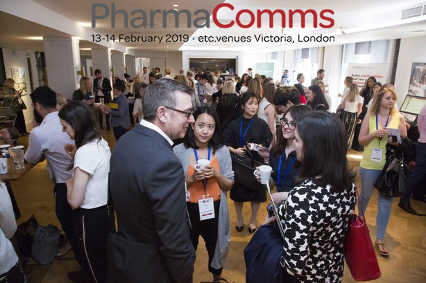 The PharmaComms conference is an opportunity to network with colleagues and hear from senior sector voices