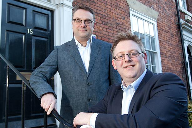 Scott Royal and Ben Pilgrim