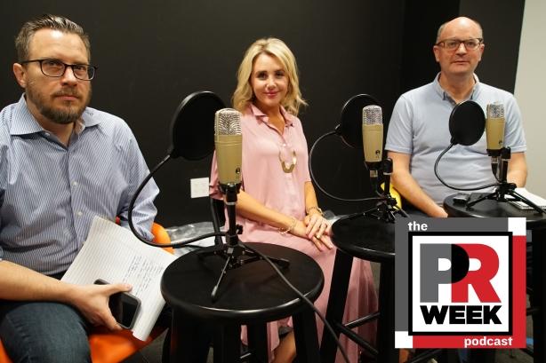 L to R: Frank Washkuch, Sara Brooks, Steve Barrett