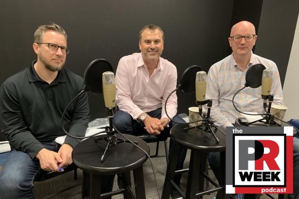 L-R: Frank Washkuch, James Wright, Steve Barrett