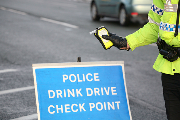 One in ten drivers failed breathalyser tests during a month-long campaign to deter drink and drug driving
