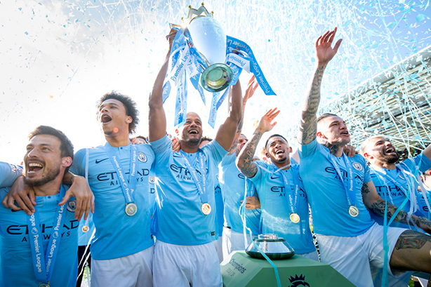 Can Manchester City defend their Premier League title? The new season kicks off today. (Photo: Michael Regan/Getty)