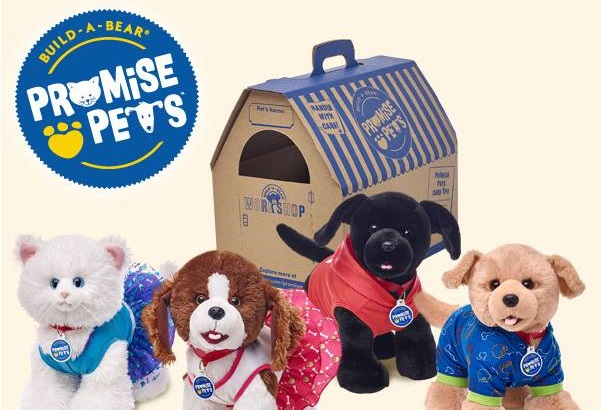 Build-A-Bear launched its Promise Pets line this month.