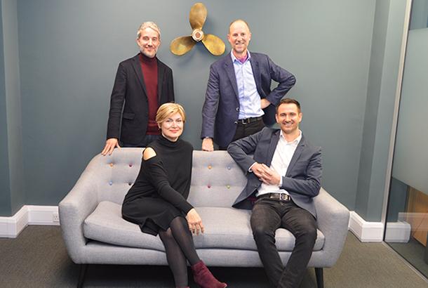 Clockwise from top left: Jody Osman, Martin Loat, Kieran Kent and Rose Bentley
