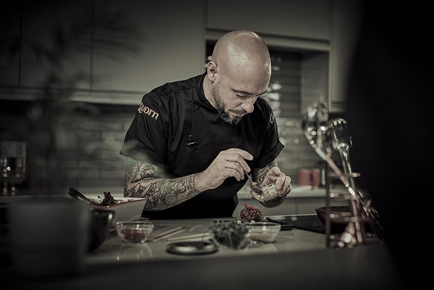 Quorn executive chef Stu Henshall