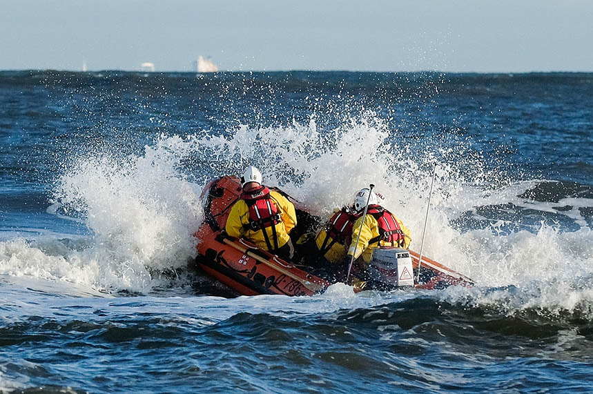 The RNLI is one of Britain's biggest charities (copyright: Getty Images/Ian Forsyth)