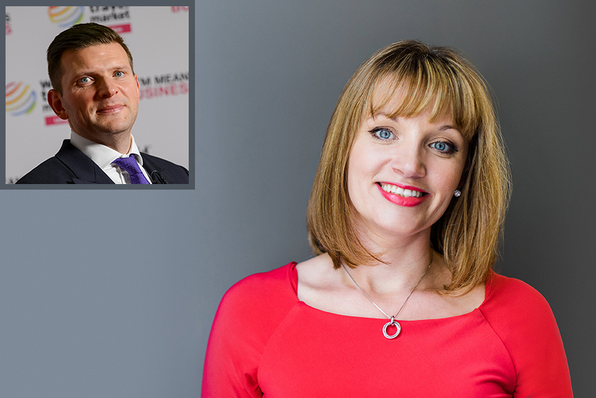 Joining Markettiers: Rachel Royall and Paul Nelson (inset)