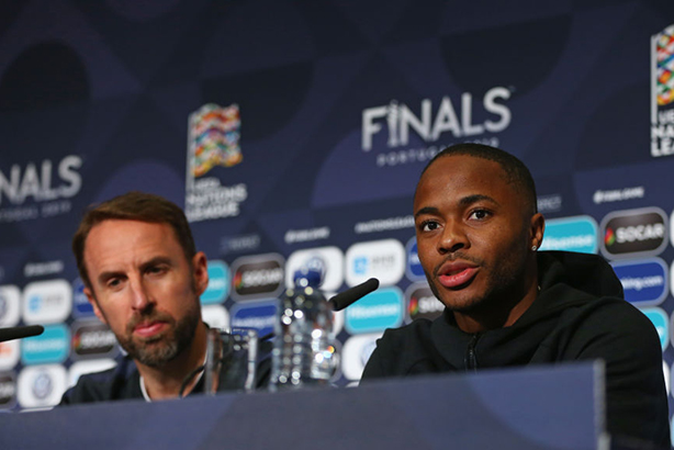 England manager Southgate received an apology from Sterling over the incident (©Steve Bardens, UEFA/UEFA via Getty Images)