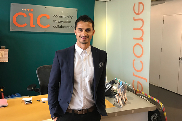 Ramarketing founder Raman Sehgal at the agency's new US office