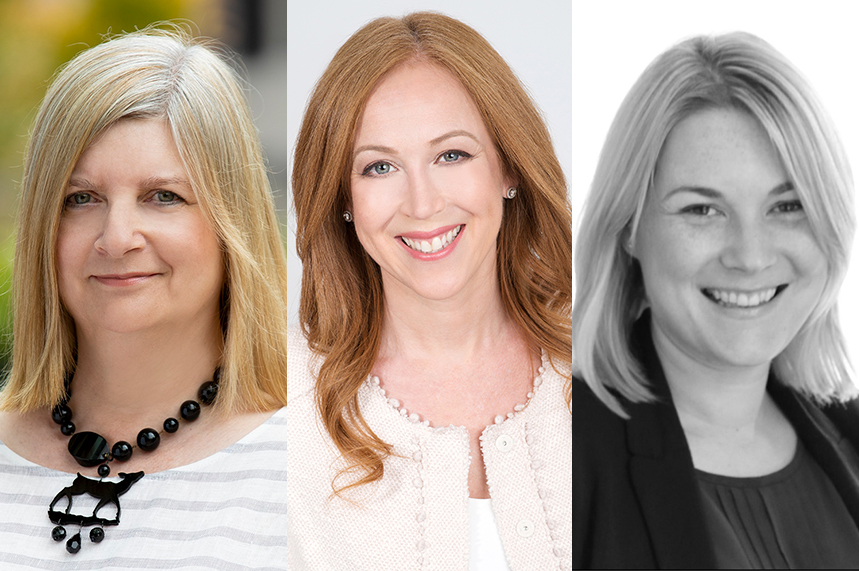 Some members of the Red Havas Health team (L-R): Sue Cook, practice head, healthcare, Australia; Stacey Gandler, global MD; and Katy Davidson, deputy MD, UK