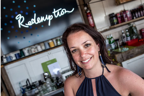 Catherine Salway' Redemption bar: Promoted by House PR