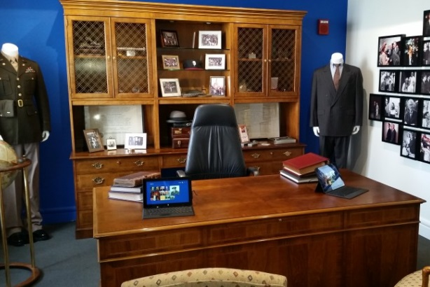 The Chicago office of the late Edelman founder Daniel Edelman