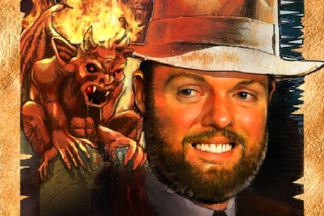 PR Guru vs The Evil Tax Man: Detail from posters put up by Hillgrove