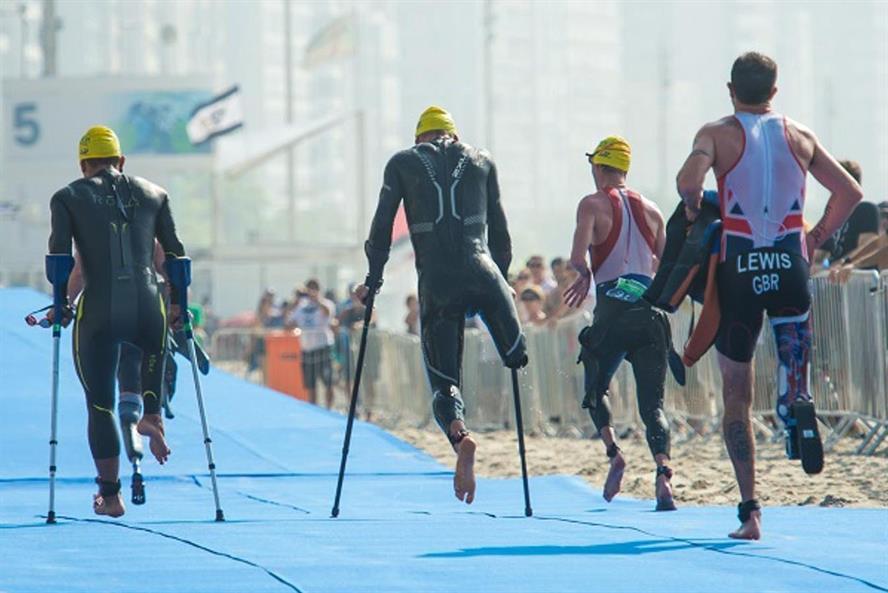 Paralympics: Para-triathletes at a Rio test event (credit: Alex Ferro/Rio2016)