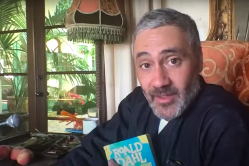 Taika Waititi reads Roald Dahl classic James and the Giant Peach