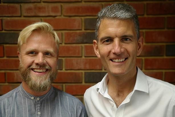Robin Invest (left) and Johnny Pitt